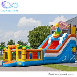 La Chine Fabricant Bounce château Le château de terrain de jeux gonflables Diapositive Jumping cavalier de plein air