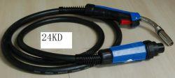 Mo 24KD torche de soudage Mig/Mag 3 mètre