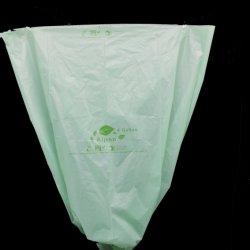 Kompostierbarer Abfall-Beutel auf en-13432 biodegradierbarem Maisstärke-Abfall-Standardbeutel Bioplastic Beutel Winkel- des LeistungshebelsPbat Pha Pbs kann Zwischenlage HDPE-LDPE-Sortierfach-Zwischenlage