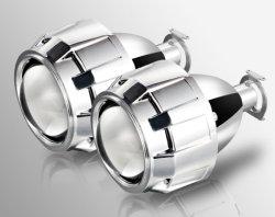 L'angolo automatico dell'obiettivo del faro di modifica del proiettore NASCOSTO xeno della Bi dell'automobile Eyes il kit di H1 H4