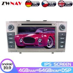 Android 10.0 PX6 64ГБ автомобильный радиоприемник проигрыватель DVD для Toyota Avensis T27 2009-2015 навигации GPS Авто стерео головного устройства мультимедиа
