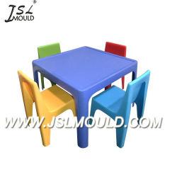 Kundenspezifischer Einspritzung-Plastikkind-Stuhl und Tisch-Form