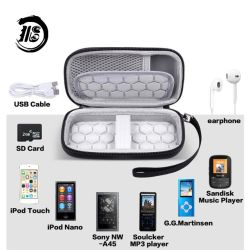 Hardshell protectora MP3 Reproductor de MP4 de los casos para el iPod Touch y reproductor de MP3 Mibao EVA Caso