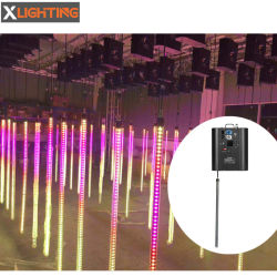 Kinetic DMX luces LED RGB de píxel tubo cinética
