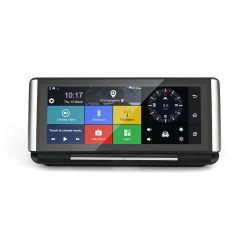 6.86 Zoll 4G leben, Nocken des auto-Kamera-androiden Videogerät GPS-Navigationrearview-Spiegel-strömend WiFi Doppelgedankenstrich-DVR