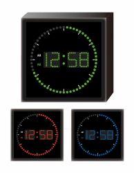 Монтаж на стене Elctric четыре цвета круговой индикатор цифровой времени