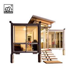 Vorfabriziertes hölzernes Haus-Behälter-Haus für faltenden Transport