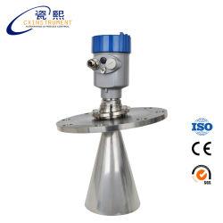 Indicador de nivel de sólidos de radar no invasiva Wireless Sensor de nivel de agua con el pulso