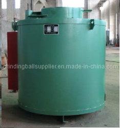 Tipo de poço vertical de tratamento térmico do forno de têmpera