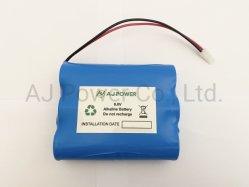 De Grootte van het Pak 6V C Size/D van de alkalische Batterij voor Speciale Meter