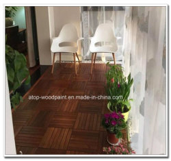 Revêtement glissant UV transparent en bois vernis peinture Primer Putty Terrasse en bois-de-chaussée
