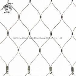 X-En acier inoxydable durable ont tendance Wire Rope Filet de câble