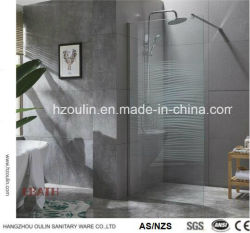 Cabine de douche en verre de boîtier pour une salle de bains moderne avec Nano conception en verre