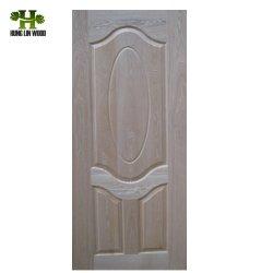 جلد باب من خشب الكتان/ Melamine مقاس 2,7 مم 3 مم HDF مقولب مقاس 4,2 مم لـ باب الدخول
