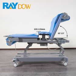 Medizinisches Bett Selbst-Ändern Papierrollengeduldiges Ultraschall-Krankenhaus-Bett-Prüfungs-Bett