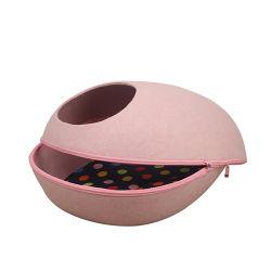 Tipo multifunzionale nido dell'uovo dell'animale domestico di pulizia facile della Camera del gatto piccolo