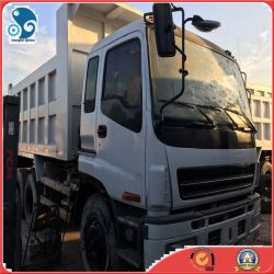 Caminhão Basculante Isuzu usados com 10cilindros (10PE1) do Motor Diesel