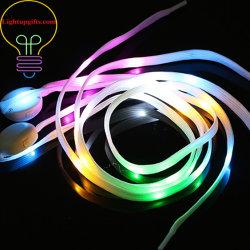 LED se encienden los encajes de zapata