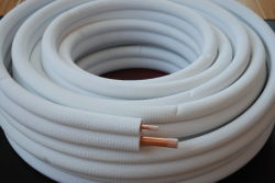 O tubo de cobre da bobina de cobre do tubo de cobre isolados para o ar condicionado