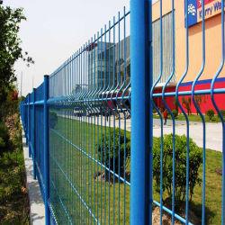 Jardín de la comunidad de alta calidad 3D recubierto de PVC soldadas valla de malla de alambre plegable