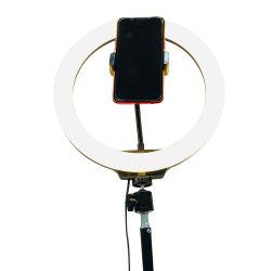LC666 10 polegada 26cm Ring Flash da lâmpada de luz de LED fotografia USB Lâmpada de iluminação para o smartphone da Câmara Studio Live Streaming