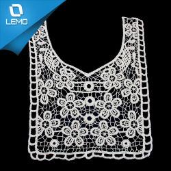 La Haute Couture blanc de couture décorative 100% coton cou dentelle de garniture