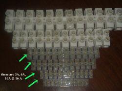 Le connecteur de câblage du connecteur de barrette de borne Bornier à 12 contacts