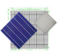 21.6%-22.6% hoher Efficiencys halber monoschnitt-monokristalline Solarzellen-Sonnenkollektor-Elektrizitäts-Stromversorgung der photo-voltaischen Zellen-5bb 158.75mm*158.75mm
