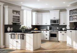 Apartment Kitchen Cabinets White Shaker Collection - Solides Holz mit weicher Schublade