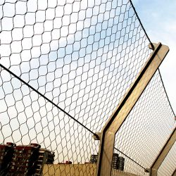 Edelstahl-Balkon-Geländer-Ineinander greifen-schützende Ineinander greifen-Filetarbeit