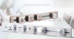 Multi universal de la Oficina inteligente sistema de alimentación vía toma eléctrica