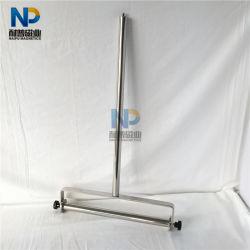Magnetische Kehrmaschine mit starkem NdFeB Magneten und Edelstahl