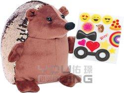 Moda personalizada Sequined juguete Erizo de peluche forma