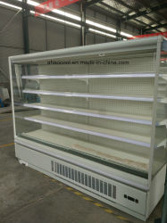 Aufrechter Supermarkt gekühlter Schrank für Eiscreme