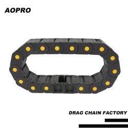 Aopro CNC機械部品のためのナイロンエネルギーケーブルの抗力キャリアの鎖