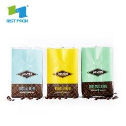 Fabricant de gros de l'impression personnalisée écologique d'aluminium Sac goutte à goutte filtre à café