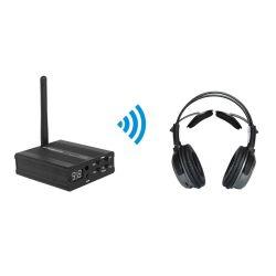 Ecouteur Casque sans fil RF 2.4G Solution pour Silent Disco Party