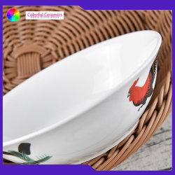 Vintage porcelana 7pulgadas cuencos de fideos Nacional Bowl Ensaladera puede ser personalizado