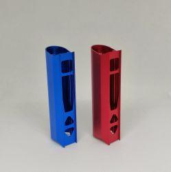 CNC Precision produce contenitore per sigaretta elettronica in lega di alluminio alloggiamento per sigaretta elettronica