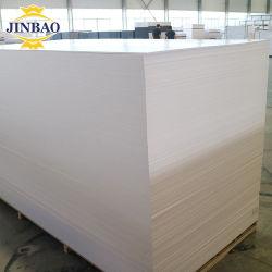 Painel Jinbao China Impressão da máquina de corte 18 mm 16mm Peso da parede decorativa plástico madeira 10mm Sintra Placa de espuma de PVC expandido
