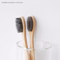 FDA Standardbambusholzkohle-Zahnbürsten für persönliche Sorgfalt