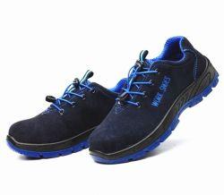 Industrielle Arbeits-Sicherheits-Schuh-Veloursleder-Sicherheits-Schuhe