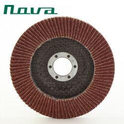 Befestigungsteil-Hilfsmittel-abschleifender Schleifer-Polierausschnitt-reibende Abdeckstreifen-Rad-Platte-Platte für Inox Metallstahl