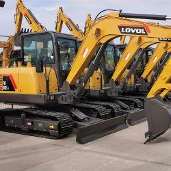 22 Ton preços escavadora de rastos de máquinas de escavação Foton Lovol Fr220d2