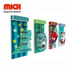 Customized Novo design do tema dos desenhos animados playground coberto Rock uma parede de escalada