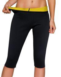Женщин потеря веса горячий пот похудение сауна шорты неопреновые тренировки бедер похудение Capris Leggings Shaper кузова