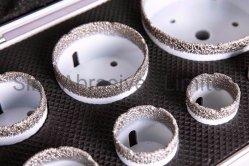 De vacuüm Gesoldeerde Geplaatste Uitrustingen van de Bit van de Kern van de Zaag van het Gat van de Diamant