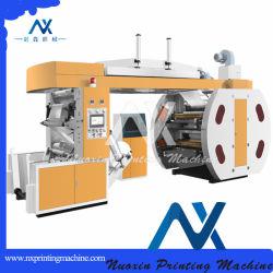 4 Цвет OPP/BOPP/HDPE/LDPE/Pet центрального барабана Flexographic печати машины