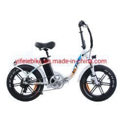 Neues populäres Gummireifen Ebike 48V 500W der Frauen-20inch faltbares fettes elektrisches Fahrrad für alten Arbeitsweg-Gebrauch