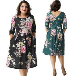 Dropshipping quatre la taille de deux couleurs en stock les femmes de plus de vêtements de taille